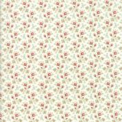 Moda - Porcelain - 3 Sisters - 6338 - Rosebuds Ditsy Floral on Cream  - 44195 11 - Cotton Fabric